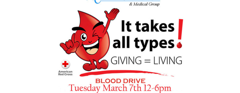 blood drive march